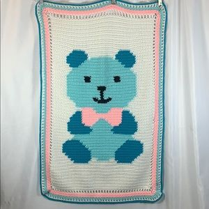 Handmade Teddy Bear Blanket